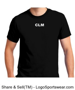 ConnorLM V2 T-Shirt (Black) Design Zoom